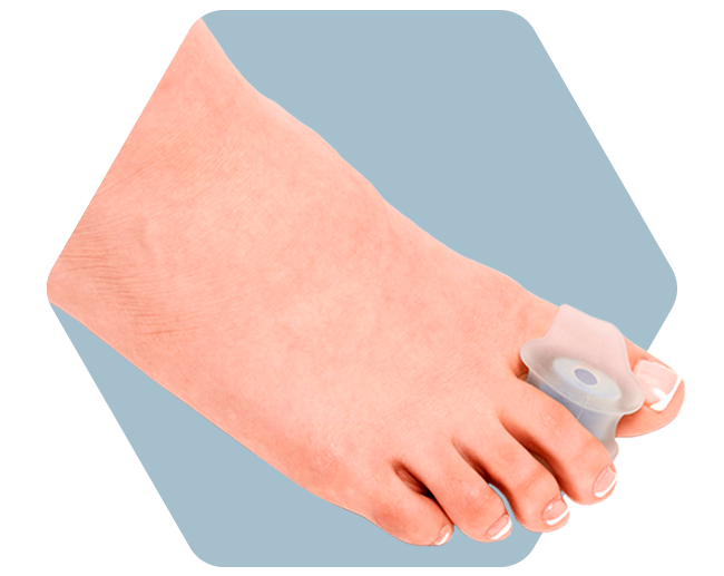 Customizable Advanced Toe Spreader